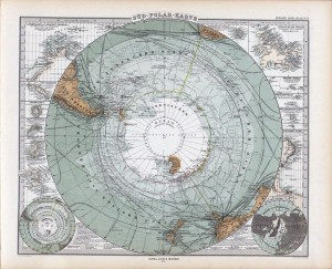 Sued Pola Karte Gotha: Justus Perthes 1875