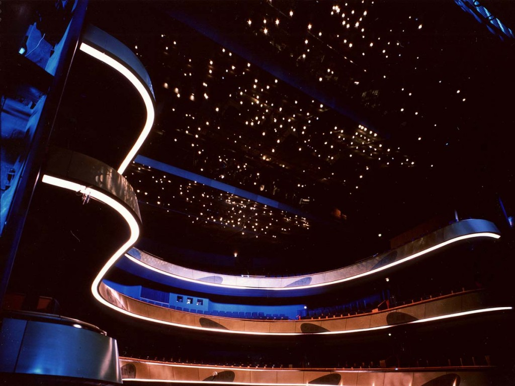 Frankfurt Opera House (Architect: Klaus Roth, Lighting Design: Toyo Ito)